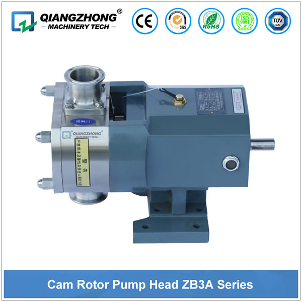 Cam Rotor Pump Head ZB3A Series