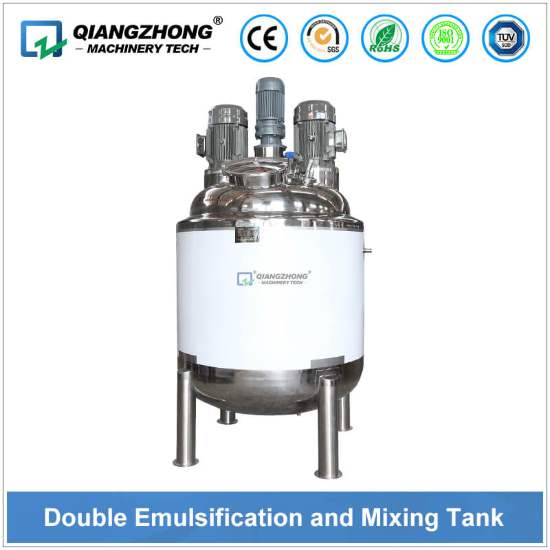 Double Emulsification and Mixing Tank