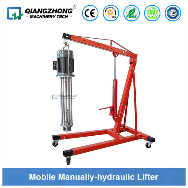 Mobile Manually-hydraulic Lifter