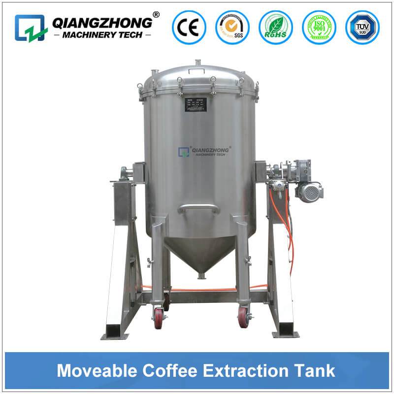 Moveable Coffee Extraction Tank