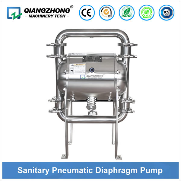 Sanitary Pneumatic Diaphragm Pump
