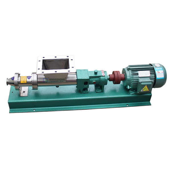 Single Screw Pump With Rectangle Feeding Port