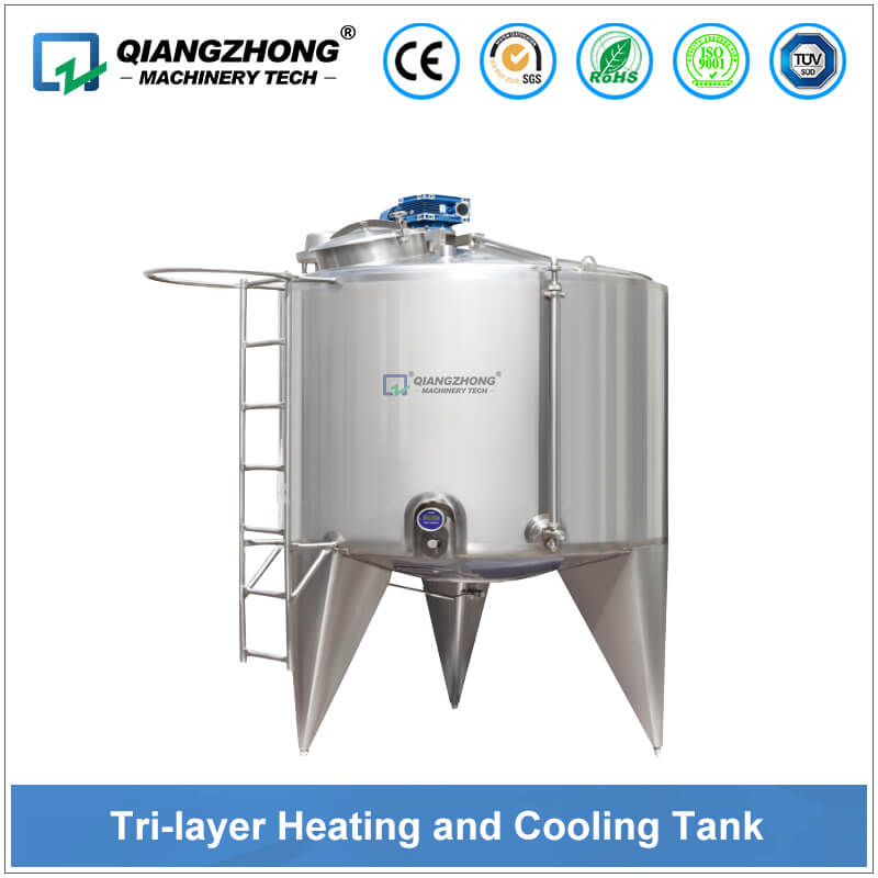 Tri-layer Heating and Cooling Tank
