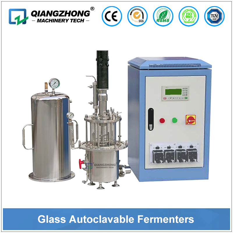 Glass Autoclavable Fermenters