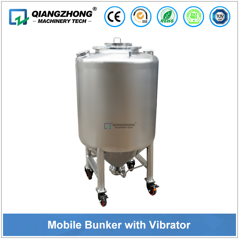 Mobile Bunker With Vibrator