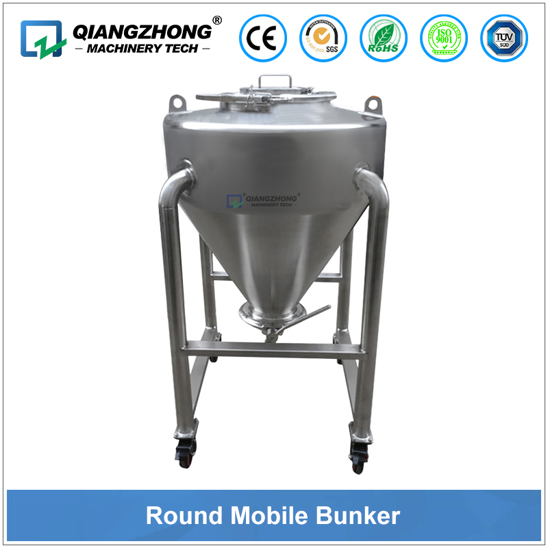 Round Mobile Bunker