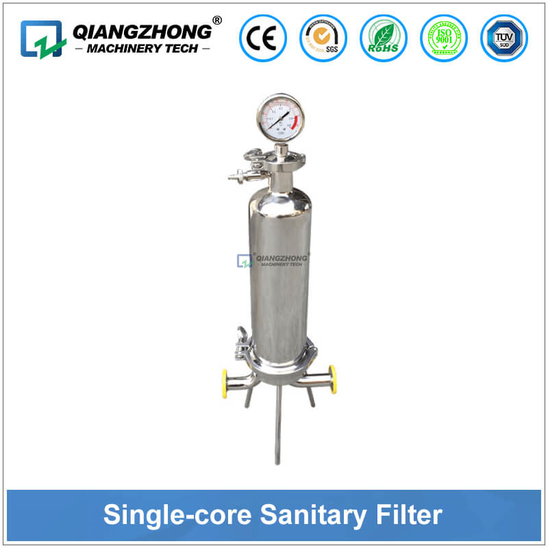 Single-core Sanitary Filter