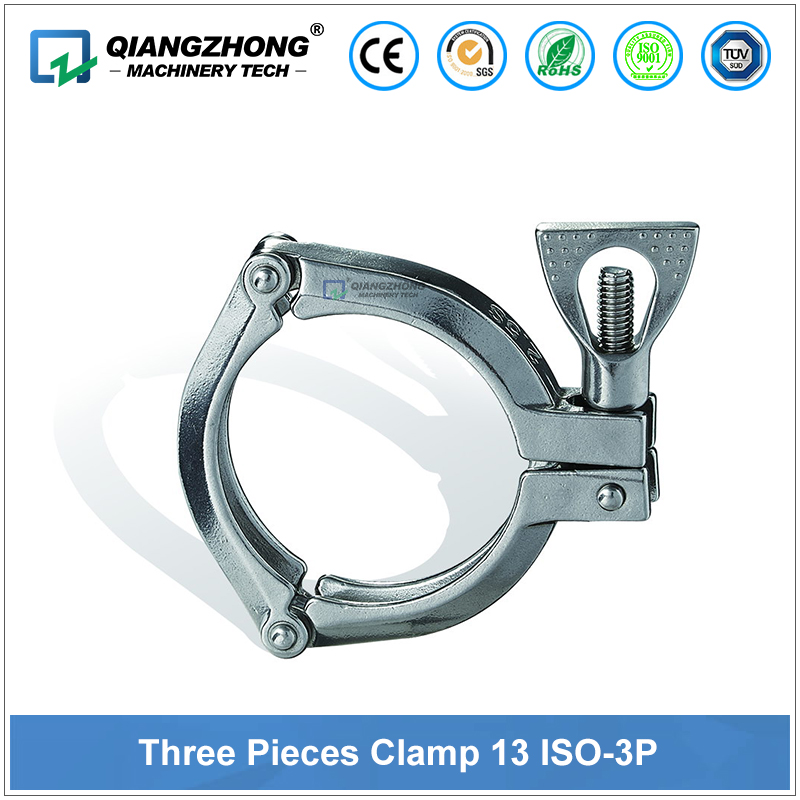 Three Pieces Clamp 13 ISO-3P