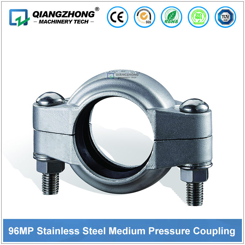 Model 96MP Stainless Steel Medium Pressure Flexlible Coupling