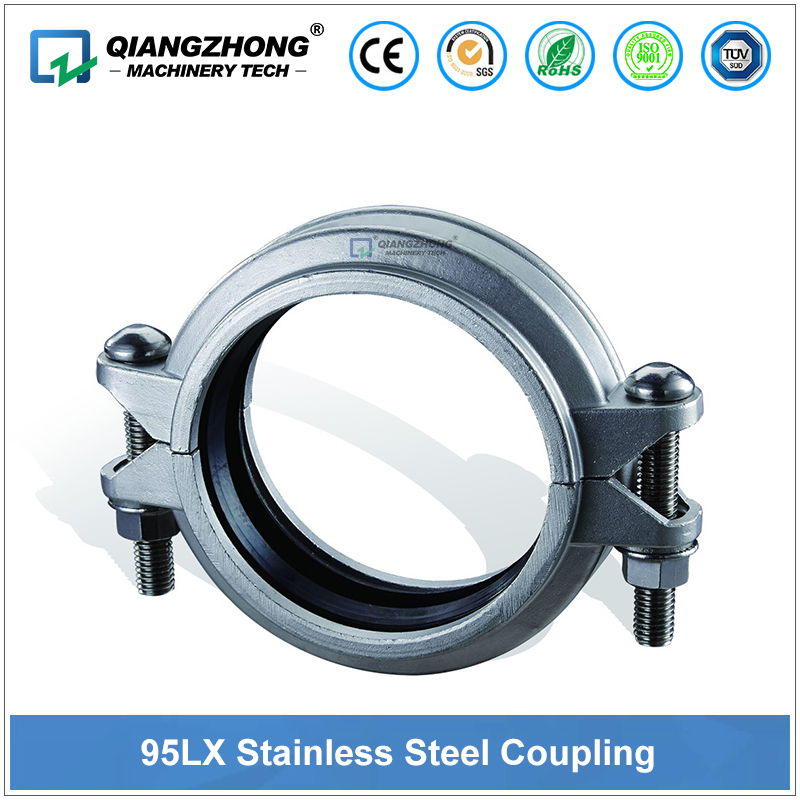 Model 95LX Stainless Steel Low Pressure Flexlible Coupling