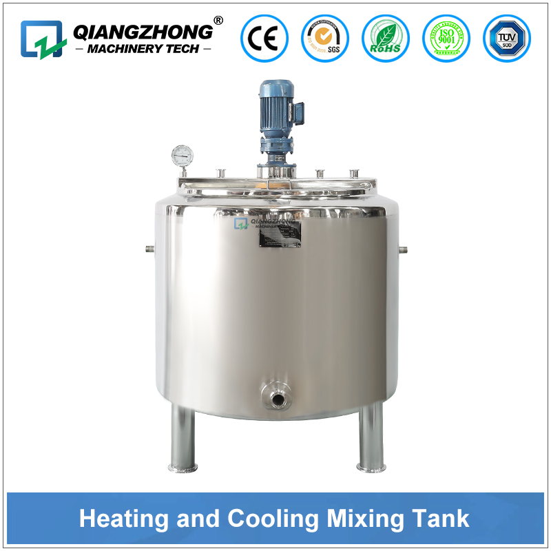 Heating and Cooling Mixing Tank